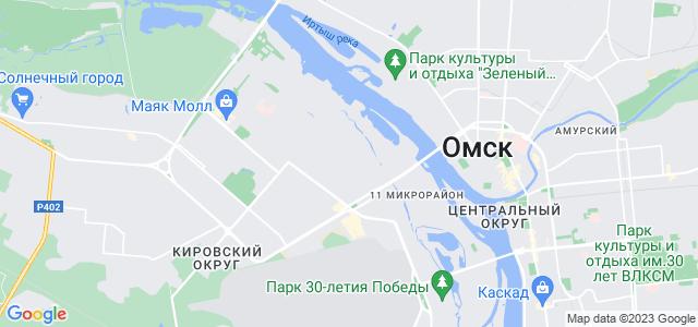 Где в россии находится омск