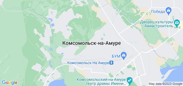 Комсомольск-на-амуре где находится
