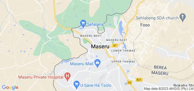Lefa Male Maseru Lesotho Hot Or Not - maseru map